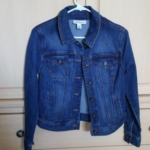 Style & Co Denim Jean Jacket XS